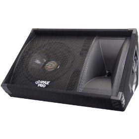 PYLE-PRO PASC12 - 600 Watt 12'' Two-Way Stage Monitor Speaker System