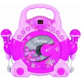 Barbie BAR504 Sing-A-Long Kid's Karoake, Pink