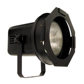 American DJ Par 38BL Par 38 Black Par Can with 150W Lamp
