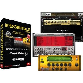 IK Multimedia IK Essentials Software Bundle with SampleTank 2.5L, AmpliTube 2 Live, and T-RackS 3 Standard