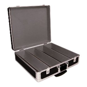 Odyssey KCD600W Black Krom Cd Case For 600 View Packs With Wheels And Pullout Handle
