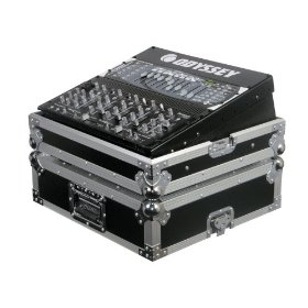 Odyssey FZ19MIX Flight Zone Single Dj Mixer Ata Case: Holds Most 19 Mixers