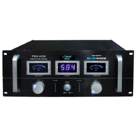 Pyle-Pro PDG4000 Blue Rock 4000 Watt Professional Stereo Power Amplifier (19-inch Rack Mount)
