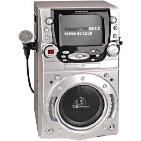 EMERSON GM955/GQ955 Karaoke CD+G System with 100 Songs