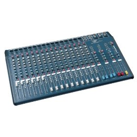 Pyle PSX16 16 Input Channel Stereo Console Mixer