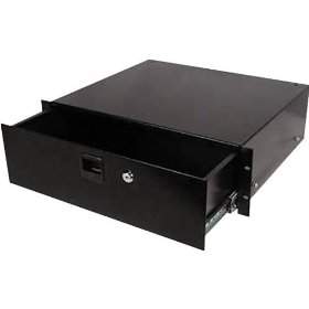 Odyssey ARDP02 2 Space Pro Rack Drawer Accessory With Lock