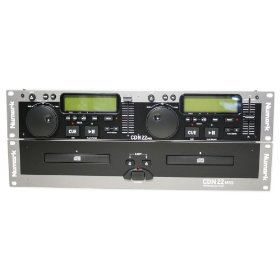- 	 Brand New Numark Cdn22 Mk5 Dual Dj Rack-mount Cd Player with Digital Output