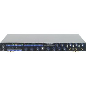 Brand New Vocopro Da-2200 Pro Advanced Rack Mount Mixer with Built in Digital Echo Control + Repeat and Delay Controls + Six Mic Inputs with Three Individual Volume Controls