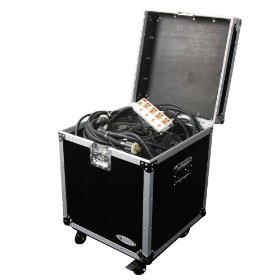 Odyssey FZTP020W Utility Flight Case With Wheels, Interior Dimensions: 20 X 20 X 20