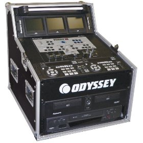Odyssey FZ494 Flight Zone Ata Triple Combo Rack: 4u X 9u X 4u