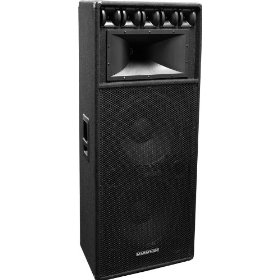 Marathon DJ-2183 Dual 18-Inch Three Way Loudspeaker