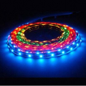 RGB Color Changing Magic LED Strip waterproof LED With Controller and Power Supply, 2054RGB