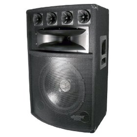 Pyle-Pro PADH1589 - 800 Watt 15'' Six-Way Speaker Cabinet