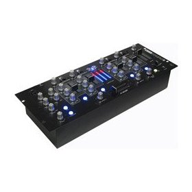 4-Channel Rackmount Studio Recording/DJ Mixer