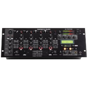 American Audio QFX Pro 19 Inch 4 ch Mixer with Effects