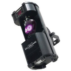 American DJ DJ Scan 250EX 250 Watt halogen DMX 512 or Stand Alone Scanner