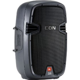 JBL EON 510 Self-Powered Two-Way 10-inch 280-Watt UltraLightweight Speaker with 3 mix inputs
