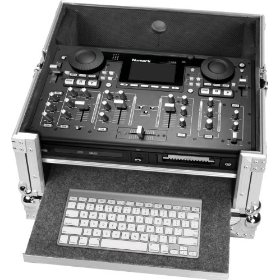 Marathon Flight Ready Case MA-Hdmixv2 Case To Hold 1 X Numark Hdmix CD Mix Station + Keyboard Tray