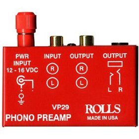 Rolls VP29 - Phono preamplifier