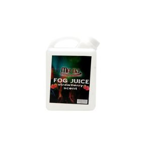 Fog Juice Strawberry Scent 5 Liters Works with CHAUVET FOG MACHINES & other Fog Machine Brands
