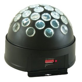 American DJ Starball LED DMX Controllable Mirror Ball Type Effect