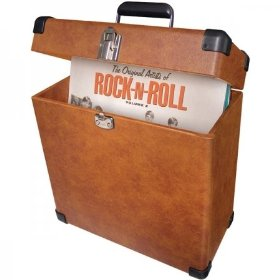 Crosley CR401-TA Record Carrier Case (Tan)