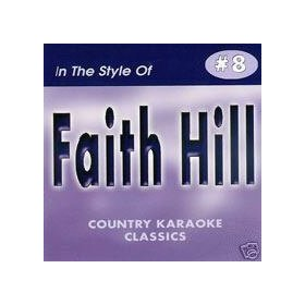 FAITH HILL Country Karaoke Classics CDG Music CD