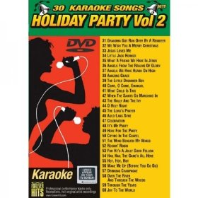 Forever Hits 9078 Holiday Party DVD Vol 2 (30 Song DVD)