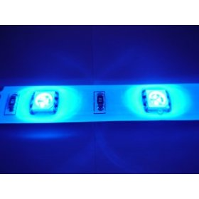20 18 Blue LED Light Strip with Connectors