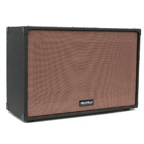 212 GUITAR SPEAKER CABINET Vintage Style with Tolex and Wheat Cloth Grill - 2x12 160 Watts PA/DJ PRO AUDIO