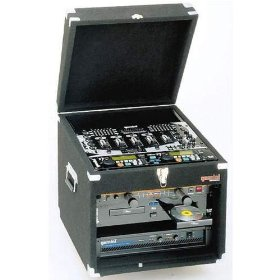 Gemini MRC Professional DJ Case (10 Space Top - 6 Space Bottom)