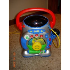 Leap Frog Learning Screen Karaoke Machine w/Microphone
