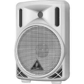 Behringer Eurolive B208D-WH Active 200-Watt 2-Way PA Speaker System with 8-inch Woofer and 1.35-inch Compression Driver, White