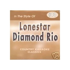LONESTAR & DIAMOND RIO Country Karaoke Classics CDG Music CD