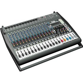 Behringer  PMP5000 1,200-Watt 20-Channel Powered Mixer