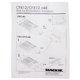 Brand New Mackie Rm Cfx12 Mkii Rack Mount Kit