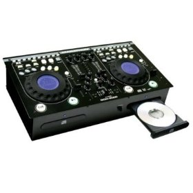 MARATHON DUAL CD DJ MIXER STATION
