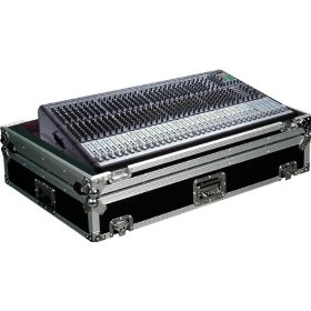 Marathon Flight Ready Case MA-Onyx324W Case for Mackie Onyx 32.4 Mixing Console Or Any Equal Size Format Mixing Consoles with Low Profile Wheels