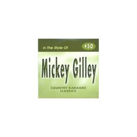 MICKEY GILLEY Country Karaoke Classics CDG Music CD