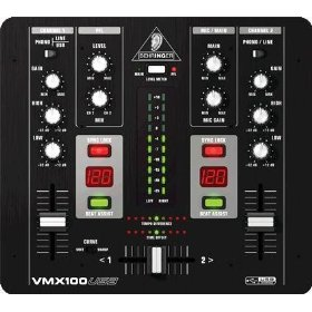 Behringer Professional 2-Channel DJ Mixer with USB/Audio Interface, BPM Counter, VCA Control and Massive Software Bundle