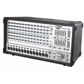 PYLE-PRO PMX1406 - 14 Channel 1200 Watts Powered Mixer