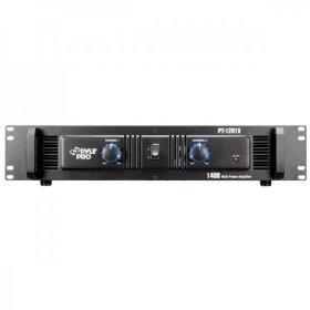 Pyle-Pro PT1201X 1400-Watt Professional DJ Power Amplifier