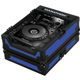 Marathon Flight Ready MA-CDJ900Blkblue Blue - Black Series - Case for Pioneer CDJ900, And All Other Large Format CD/Digital Turntables