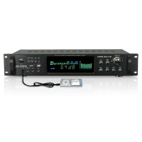 Brand New Technical Pro Hb-2502u 2500 Watt 7.2 Channel Digital Hybrid Amplifier Receiver with Built in Usb + Sd Reader, Built in Pre-amp, Digital Radio / Mic Inputs and Great Features