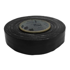 American DJ Tape 2B 2 Inch Black Stage Tape Low Residue