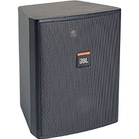 JBL Control 25AV Indoor Outdoor Speakers (5 1/4 inch, 200 watts, Black, Pair)