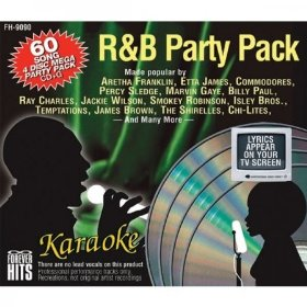 Forever Hits 9090 R&B Party Pack (4 Discs 60 Songs)