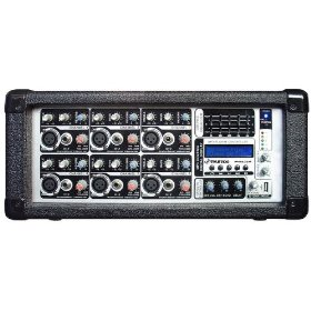 PYLE-PRO PMX602M - 6 Channel 600 Watts Powered Mixer w/ MP3