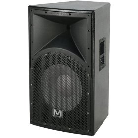 Marathon Entertainer Series ENT-115V2 Texture Coated Single 15-Inch Two Way Loudspeaker