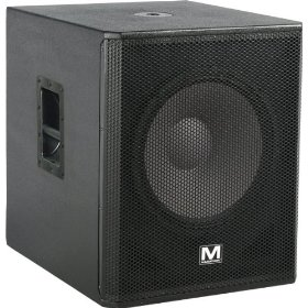 Marathon Entertainer Series ENT-118V2 Texture Coated Single 18-Inch Subwoofer System